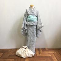 KIDSオリジナル浴衣「点」紺