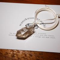ガウリシャンカール産ヒマラヤ水晶 ネックレス KBD