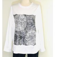 Pa-Nu 和紙&ラバープリントTシャツ