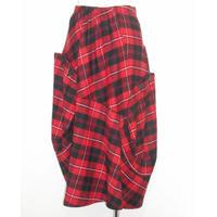 CRESCENT ウールフラノデザインスカート
