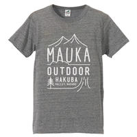 Mauka outdoor オリジナルTシャツ カラー:ヘザー