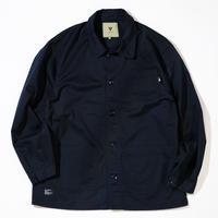 VINYL JUNKIE - LOGO Coverall Jacket - Black