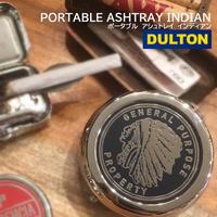 DULTON PORTABLE ASHTRAY INDIAN