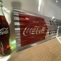 Coca-Cola  コルゲートメタルサイン