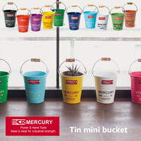 Mercury Tin mini bucket /マーキュリー ブリキ ミニ バケツ