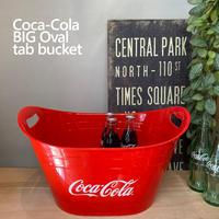Coca-Cola BIG Oval tab bucket