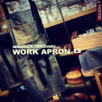 HillMeJEAN DENIM WORK APRON