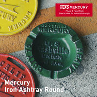 Mercury Iron Ashtray Roundアイアンアッシュトレイ【マーキュリー】