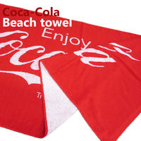 【Coca-Cola】 ビーチタオル【8900122】