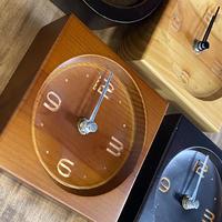 natural wood  mini clock