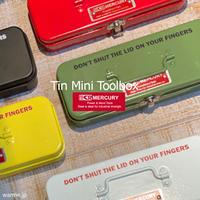 Mercury Tin Mini Toolbox