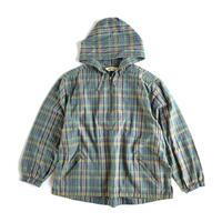 Eddie Bauer / Pullover Cotton Canvas Plaid Jacket