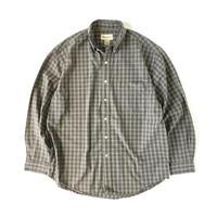 Eddie Bauer / Plaid B.D.Shirt
