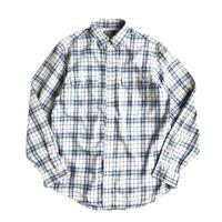 Ralph Lauren / cotton flannel plaid shirt