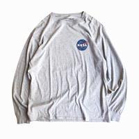 NASA / Logo Printed Long Sleeve Tee