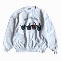 kliban cat (crazy shirt) illustration print sweatshirt