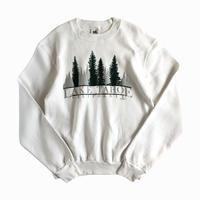 Fruit of the Loom / Lake Tahoe California Flocky print Sweatshirt