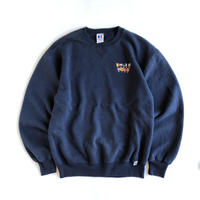 Russell Athletic / ocean city sailing embroidery  sweatshirt