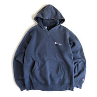 Champion / logo hoodie with gazette (Made in USA)
