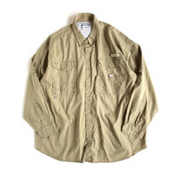Columbia / Cotton Poplin Fishing shirt