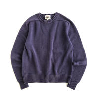 Basic / crew neck cotton sweater (for womens)