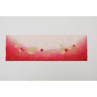 創作デザイン和紙(もみじ)(商品番号:as-18102)