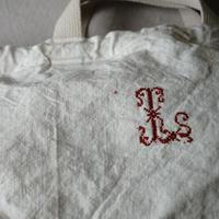 買い物カゴトートL用インナーバッグ『special fabric & lettered』