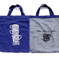 """3 Cups ×  SCHNAUZER"" REVERSIBLE BIG BAG"