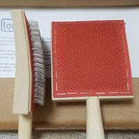 綿・短繊維用ハンドカーダーミニ