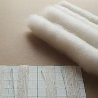 手紡ぎ糸と篠綿の研究セット