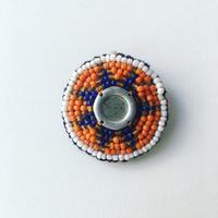 ビーズ刺繍ブローチ・3(アフガニスタン)