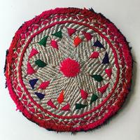 ビーズ刺繍ブローチ・9(アフガニスタン)大