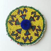 ビーズ刺繍ブローチ・5(アフガニスタン)中