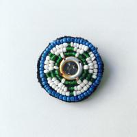 ビーズ刺繍ブローチ・1(アフガニスタン)