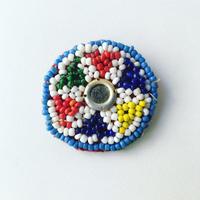 ビーズ刺繍ブローチ・6(アフガニスタン)