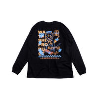 Two Faced NICO L/S T-shirt -BLACK