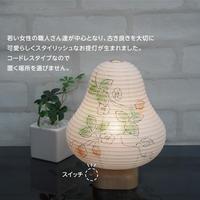 『いちご&strawberry』乙女【ベリーライト】インテリア提灯