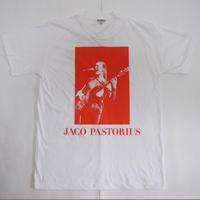 「JACO PASTORIUS」ver.2ジャズTシャツ(写真家・内山繁氏コラボ) WATERFALL  S/ M/ L