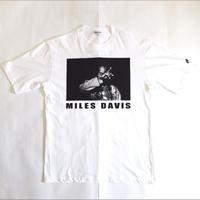 「MILES DAVIS」ver.1 ジャズTシャツ(写真家・内山繁氏コラボ) WATERFALL  S/ M/ L
