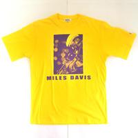 「MILES DAVIS」ver.7 ジャズTシャツ(写真家・内山繁氏コラボ) WATERFALL  S/ M/ L