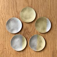 月豆皿 満ち欠け5枚セット