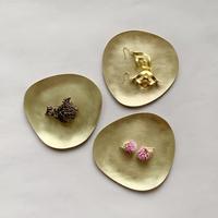 Stone S   ふぞろいの真鍮皿