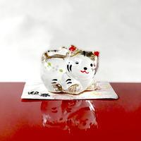 Gold paint Tiger-Japanese Zodiac(small) / Glass decoration