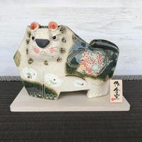 Tiger-Japanese Zodiac(green) / Hand-made