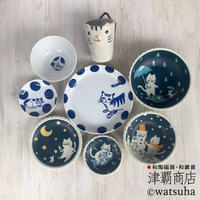 【Shipping 50%OFF!!】CLAZY♡CATS SET  for Single(White cup)