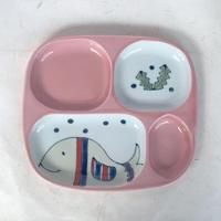 Animal Lunch Plate for Kids / Arita ware