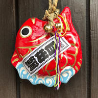 Lucky fish ornament/Traditional paper mache