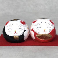 Cat's Hina Doll (round) / Semimal