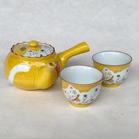 Fortune Cat Teapot&Cup set / Arita ware