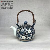 Greentea pot(M)/FLOWER ARABESQUE